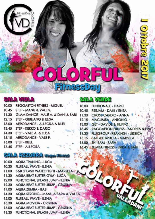 Colorful-FitnessDay:-IMPERDIBILE